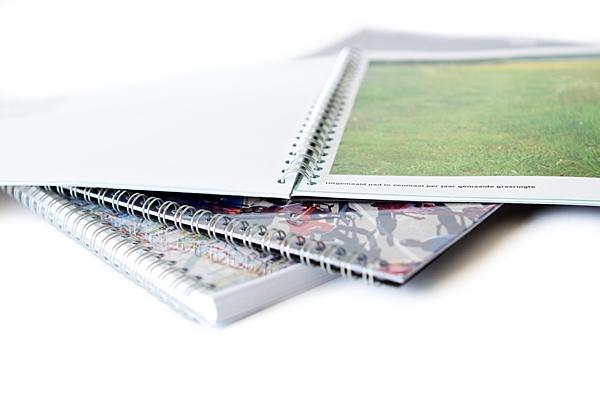A4 printen en binden wire-o-bind | Imago Prints Utrecht