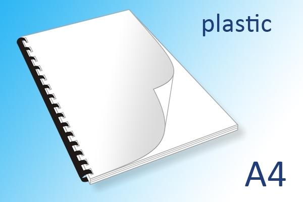 A4 plastic ringband