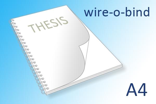 Scriptie wire-o-bind