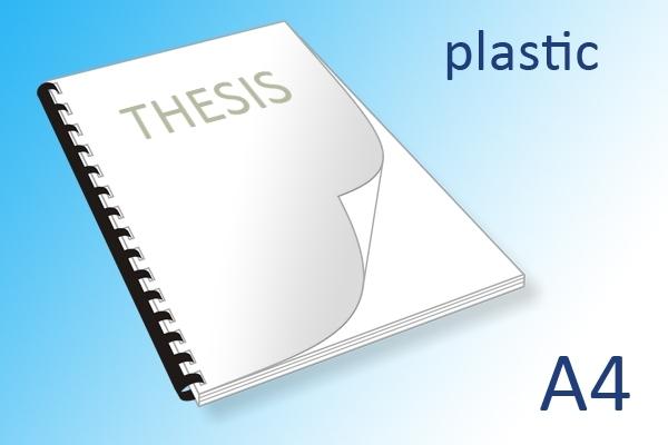 A4 scriptie printen en binden plastic ringband | Imago Prints Utrecht