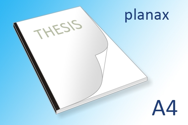 A4 scriptie printen en binden planax bandje | Imago Prints Utrecht