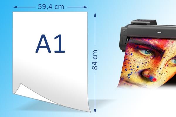 A1 posters kleur op dik of dun papier | Imago Prints Utrecht