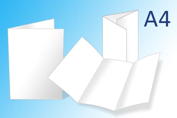 A4 folders kleur of zwart-wit | Imago Prints Utrecht
