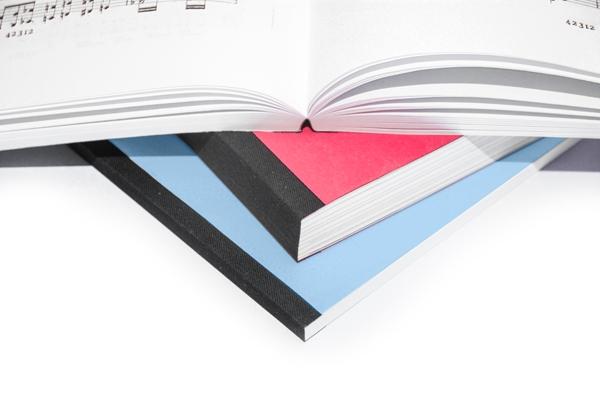 A5 printen en binden met gelijmd bandje | Imago Prints Utrecht