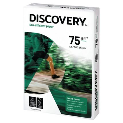 wit (mat) Discovery papier